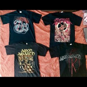 Metal Band T-Shirt Bundle